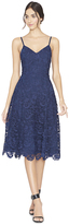 Alice + Olivia Sapphire Naomi Spaghetti Strap Fit Flare Dress
