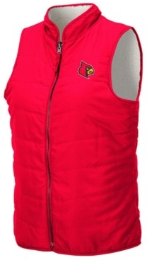 Colosseum Women's Louisville Cardinals Blatch Reversible Vest