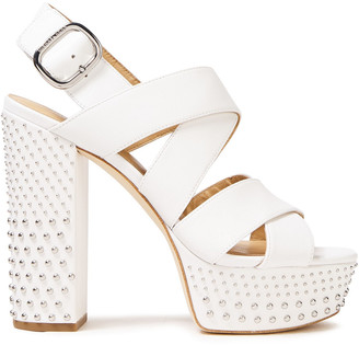 MICHAEL Michael Kors Studded Leather Platform Sandals