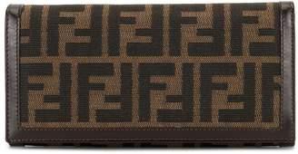 Fendi Pre-Owned Zucca pattern bifold wallet