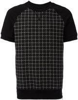Christian Pellizzari checked T-shirt