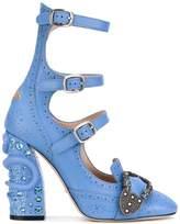 Gucci Queencore brogue pumps