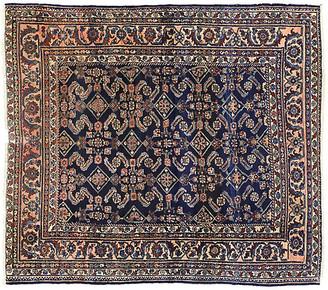 "One Kings Lane Vintage Antique Persian Lilihan Rug - 5'6"" x 6'4"" - Esmaili Rugs & Antiques - blue/multi"