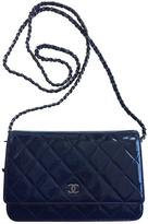 Chanel Mademoiselle patent leather crossbody bag