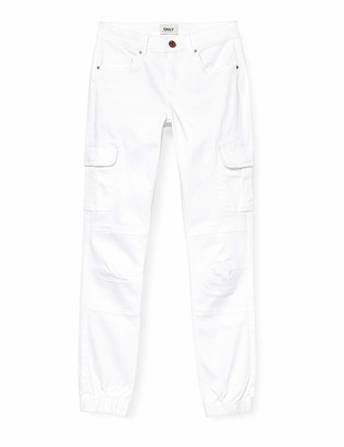 Only Women's Onlmissouri Reg ANK Life Cargo PNT Noos Jeans