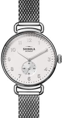 Shinola Canfield Watch, 38mm