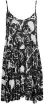 Fruit nut Womens Ladies Long Printed Camouflage Swing Cami Dress L