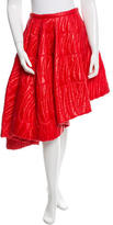 Christian Dior Asymmetrical Quilted Skirt w/ Tags