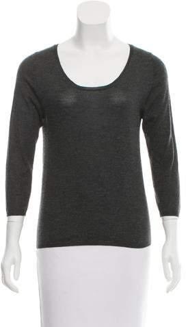 Prada Cashmere Scoop Neck Sweater