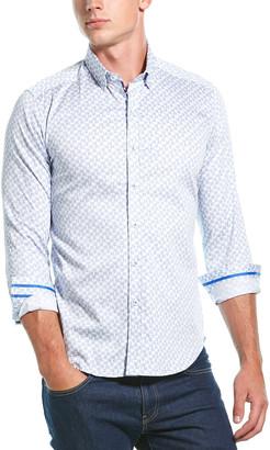 Robert Graham Haze Tailored Fit Woven Shirt
