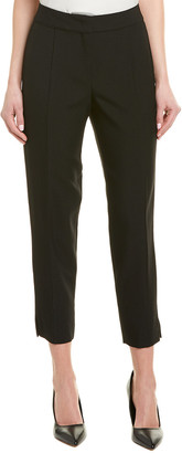 Narciso Rodriguez Wool-Blend Twill Crop Pant