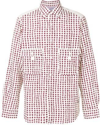 Junya Watanabe Floral Print Shirt