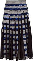 Jonathan Simkhai Multi Digital Appliqué Midi Skirt