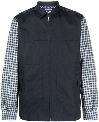 Junya Watanabe Checked Panel Shirt Jacket