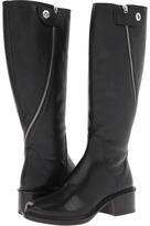 Elizabeth and James Heidi (Black Leather) - Footwear