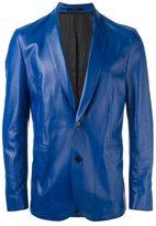 Paul Smith leather blazer