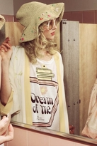 Wildfox Couture Over-Sized Dream Potion Raglan in Dirty White