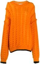 Marco De Vincenzo bubble knit jumper