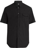 Maison Margiela Short-sleeved cotton shirt