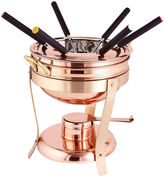 Old Dutch Decor Copper Fondue Set, 2.75 Qt