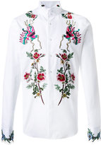 Gucci embroidered duke shirt