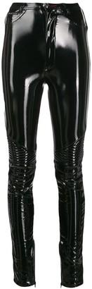 Philipp Plein Vinyl Skinny Trousers