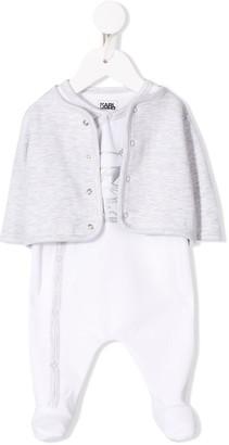 Karl Lagerfeld Paris Choupette pajamas and jacket set