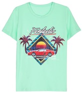 Ground Zero 'Fantastic' sunset car print unisex T-shirt