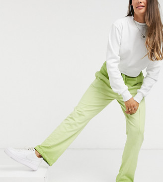 Collusion ombre wide leg jogger with stitch detail waistband