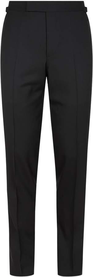 Tom Ford O'Connor Satin Stripe Tuxedo Trousers