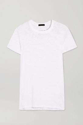 ATM Anthony Thomas Melillo Schoolboy Slub Cotton-jersey T-shirt - White