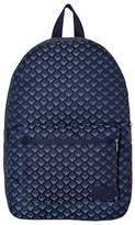 Armani Junior Grey All Over Logo Backpack
