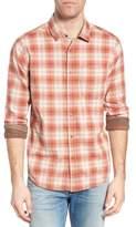 Jeremiah Men's Vogel Regular Fit Reversible Plaid Sport Shirt