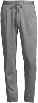 Corneliani Wool Jersey Stretch Pants