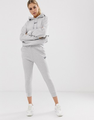adidas RYV cuffed joggers in grey