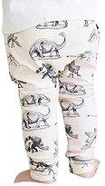 Newborn Baby Pants,Hemlock Toddler Harem Trousers Kid Boy Long Pants (6M, Beige)