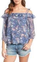 Ella Moss Women's Dreamer Wildflower Silk Top