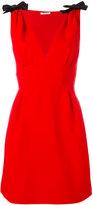 Miu Miu shoulder bows flared dress