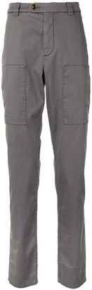 Brunello Cucinelli Straight-Leg Chino Trousers