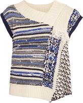 3.1 Phillip Lim Draped open-knit sweater