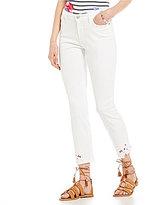 NYDJ Alina Applique Detail Ankle Jeans