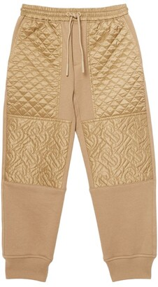 Burberry Kids Tb Monogram-Quilted Sweatpants (3-12 Years)