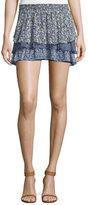 Joie Tiarella Floral-Print Ruffled Skirt