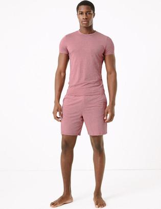 Marks and Spencer Premium Cotton Supersoft Pyjama Shorts