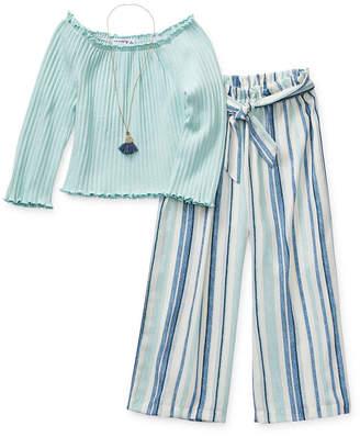 Knitworks Knit Works Pant Sets Girls 2-pc. Pant Set Preschool / Big Kid