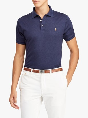 Ralph Lauren Polo Slim Fit Soft Touch Polo Shirt, Spring Navy Heather
