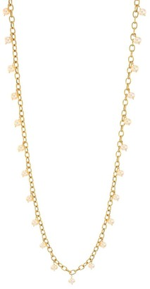 Scala Piazza Della 18K Gold 8-8.5MM Freshwater Pearl Long Station Necklace