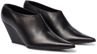 Proenza Schouler Leather wedge pumps
