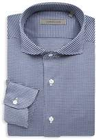 Corneliani Jersey Check Dress Shirt