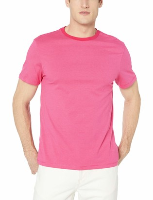 Calvin Klein Men's Short Sleeve Crew Neck Liquid Jersey T-Shirt with UV Protection